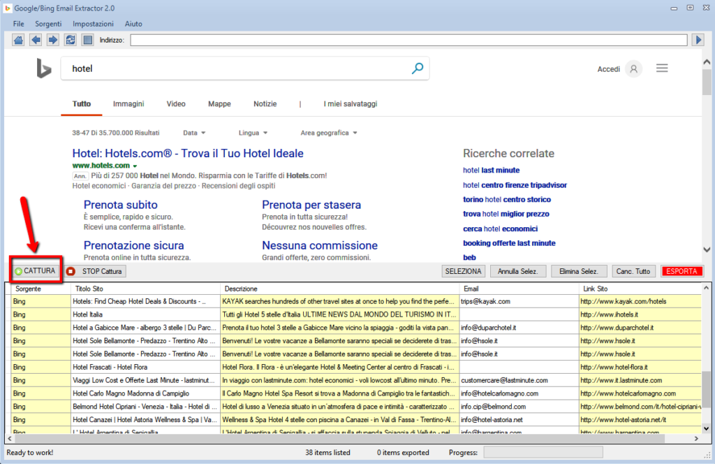 Google/Bing Email Extractor | Extract Email and Phones from Bing and