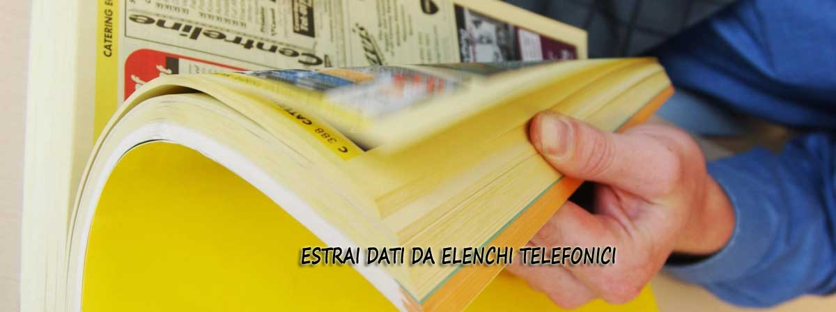 Tutorial Programma Yellow Pages Extractor